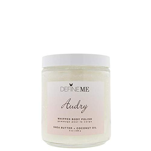 DefineMe Whipped Body Polish in Audry (Glass jar with lid. 8 oz | 226 g)