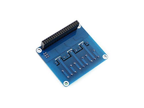Raspberry Pi Power Relay Board Expansion Board Module for Raspberry Pi A+/B+/2B/3B Loads up to 250VAC/5A,30VDC/5A by waveshare (Image #2)'