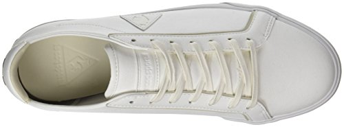 Le Coq Sportif Feret ATL Leather, Formatori Bassi Uomo Bianco (Optical White/Turtle)
