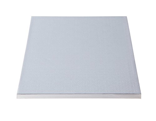 W PACKAGING WPDRM25W 1/4 Sheet (13.5x9) White Cake Drum, 1/2