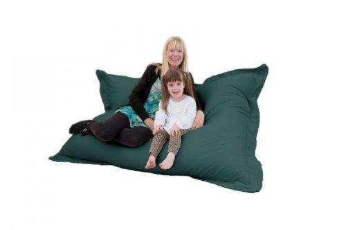Comfy Co Puf de tamaño Gigante XXXL para Interiores 4 en 1 ...