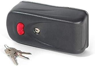 CISA ELETTRIKA EF12 Cerradura eléctrica puerta batiente automática, electrocerradura para puerta garaje batiente automática o peatonal, antivandálica.