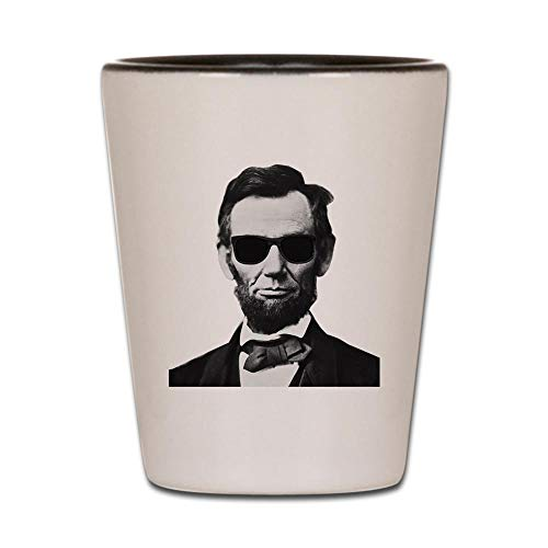 - CafePress COOL LINCOLN Shot Glass, Unique and Funny Shot Glass