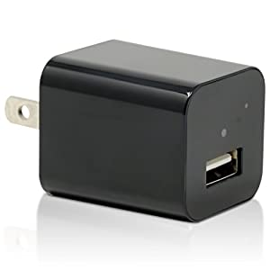 Spy Camera Charger by Stress Free Key - 32GB Included -1080P HD Hidden Camera Adapter USB Wall Charger Nanny Cam - Spy Camera Phone Charger - Wireless, Undetectable, Working Motion Detection