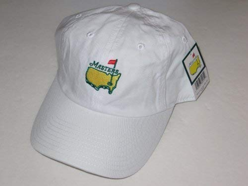 Masters hat white caddy style augusta national golf new 2019 pga