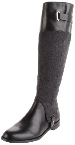 Black Women's Gilbert Dark Boot Aigner Grey Riding Etienne 5qaXwB