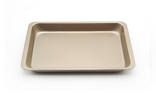 Astra shop Preferred Non-stick Rectangular Cake Pan Roasting Baking Tray, 12 inch X 7 inch