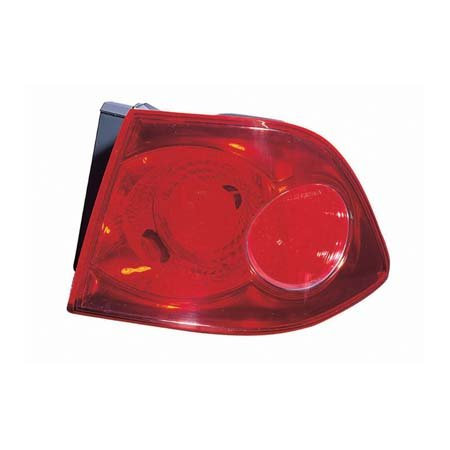CarLights360: Fits 2006 2007 2008 KIA MAGENTIS Tail Light Assembly Passenger Side w/Bulbs - Replacement for KI2805100