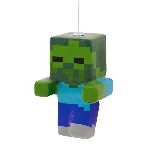 (Hallmark Minecraft Decoupage Zombie Christmas Ornament)