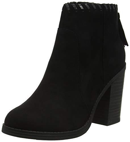 black 1 Bottines Clippy New Black Femme Look AfnXxfBRU