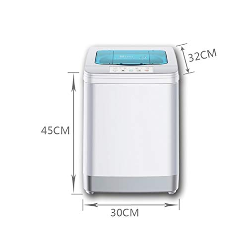 8KG portable mini baby clothes personal underwear washer with dryer