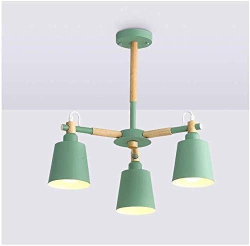 Lampe Licht Decke LED Abdeckung Lampen Esszimmer Schlafzimmer Holz Farben Kronleuchter  A ...
