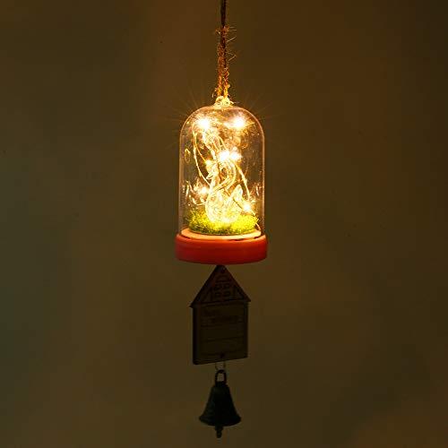 Tuscom Light Music Night Light Wind Chimes Blessing