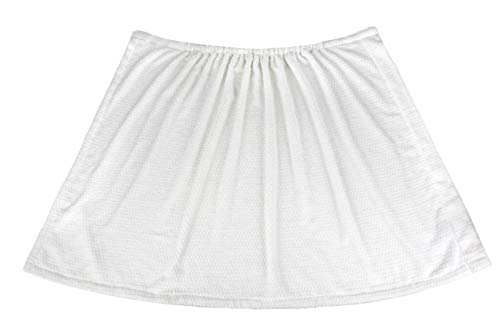 Everplush Diamond Jacquard Quick-Dry Bath Towel Wrap, One Size, White