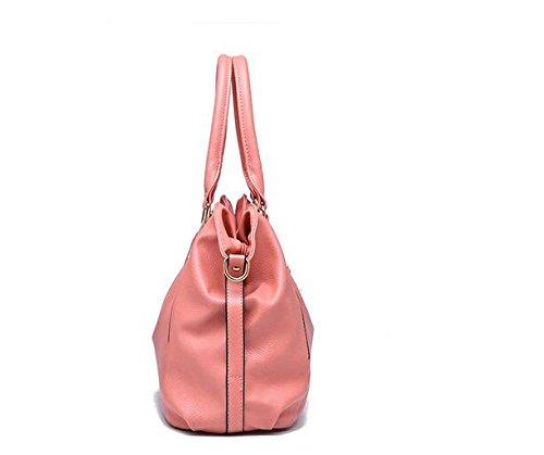 Señoras Negro Nueva Crossbody Bolso Bolso Pink Moda Clásica Meaeo De Único Bolsa Portátil Bolso Bolso Ocio BxxzqSE6