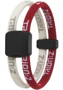 - Trion Z Dual Loop Magnetic Wristband Bracelet. Choose Size and Color (Red/White, Small)