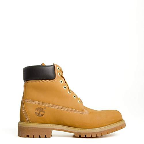 Timberland 6 Inch Premium Men's Boots Wheat Nubuck tb010061 (8 D(M) US) ()