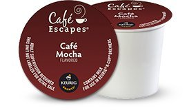 CAFE EXCAPES CAFE MOCHA COCOA 48 K Cups (Cafe Express Cafe Mocha)