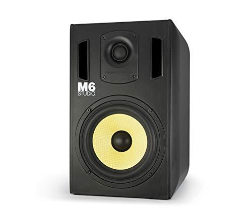 Thonet and Vander M6 Studio Monitor (90 Watt RMS) Professional Active Studio-Monitors - Pro Audio Speaker with 6.5