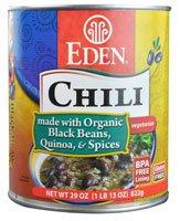 Eden Foods Chili Vegetarian Black Beans Quinoa & Spices -- 29 oz by Eden