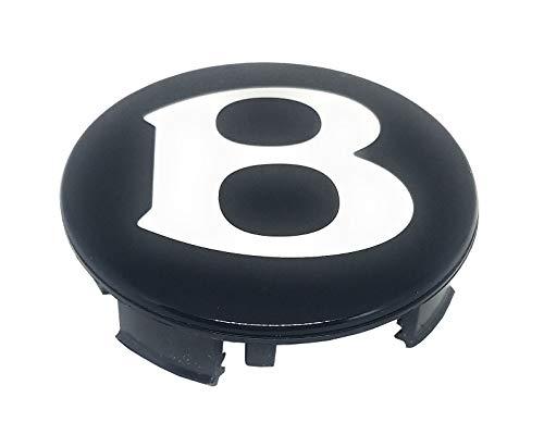 BENTLEY Wheel Center Cap, Factory Original Genuine Part OEM 3W0601170F, Black
