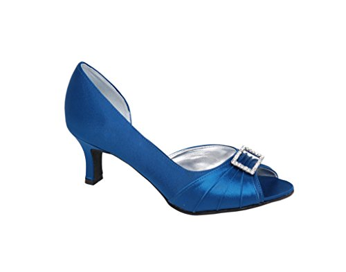 LEXUS - Zapatos de vestir para mujer azul medianoche