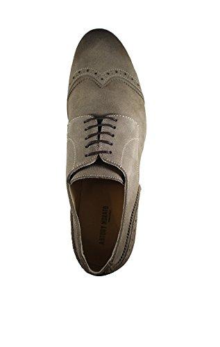 Uomo Antony Morato scarpa stringata in pelle effetto scamosciato tg.