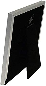 5 x 7 Plain Satin Silver Classic Photo Frame  Gift Present 24157