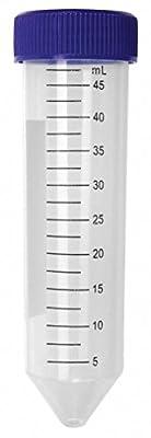 Lab Safety Supply Plastic, 50mL, Polypropylene 6VMY3-1 Each