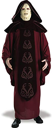 Rubie's Men's Star Wars Supreme Edition Adult Emperor Palpatine and Mask, Multicolor, Standard for $<!--$155.36-->