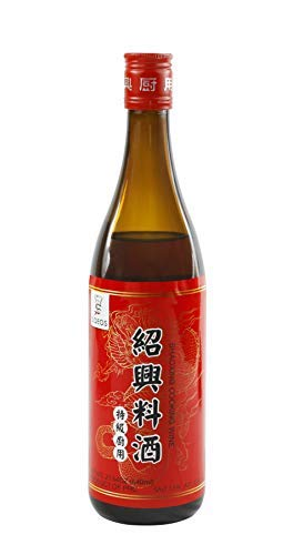 Soeos Chinese Shaohsing Rice Cooking Wine, Shaoxing Wine for Cooking, Shaoxing Rice Wine - 640ml