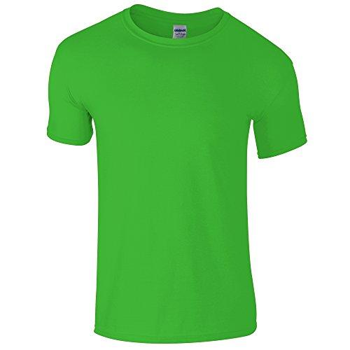 style™ Soft shirt Gildan Vert Courtes T Électrique À Manches Pour Homme ARjLS43q5c