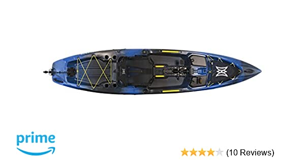 Amazon com : Perception Pescador Pilot - Fishing Kayak with