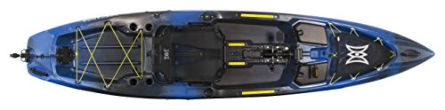 Perception Pescador Pilot 12 | Sit on Top Fishing Kayak | Pedal Drive | Multi-Water Angler Kayak | 12' | Sonic Camo