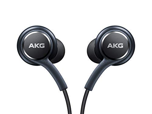 (OEM Stereo Headphones w/Microphone for Samsung Galaxy S8 S9 S8 Plus S9 Plus Note 8 - Designed by AKG - 100%)