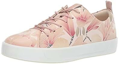 ECCO Women's Women's Soft 8 Tie Sneaker, Rose dust, 35 M EU (4-4.5 US)