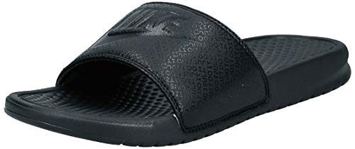 Nike Men's Benassi Just Do It Athletic Sandal, Black, 8 D(M) US