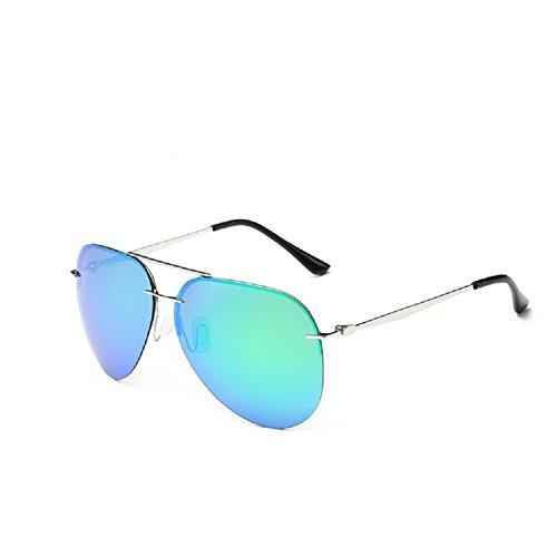 0-C Classical Aviator Sunglasses Polarized 63mm - Aviator Sunglasses Turquoise