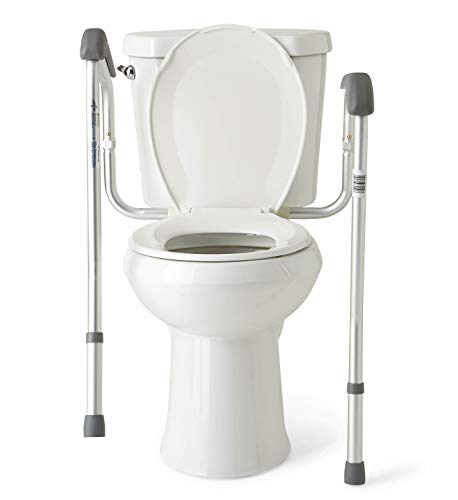 Medline Toilet Safety Rails Safety Frame For Toilet With