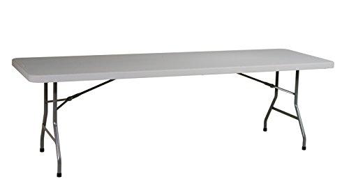 Office Star Resin Multipurpose Rectangle Table, 8-Feet Long]()