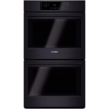 Bosch HBL8661UC 800 30 Black Electric Double Wall Oven Convection