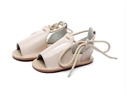 Baby Sandals Girls Boys Toddler Infant Baby Slip Resistant Slippers Beach Sandal Shoes,Cream,4
