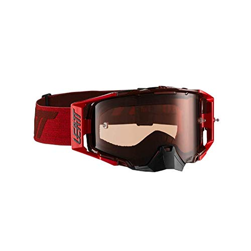 Leatt Ruby//Red Rose Maschera Motocross Unisex-Adult One Size
