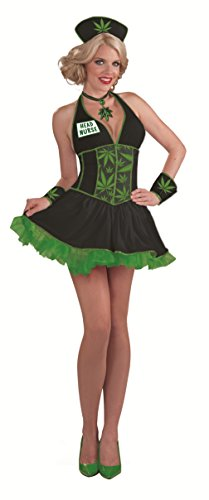 Women's Head Nurse Cannabis Costume
