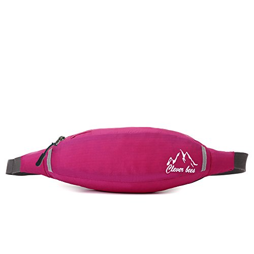 Price comparison product image DuShow Outdoor Multi-functional Waist Pack Bag (Pink)