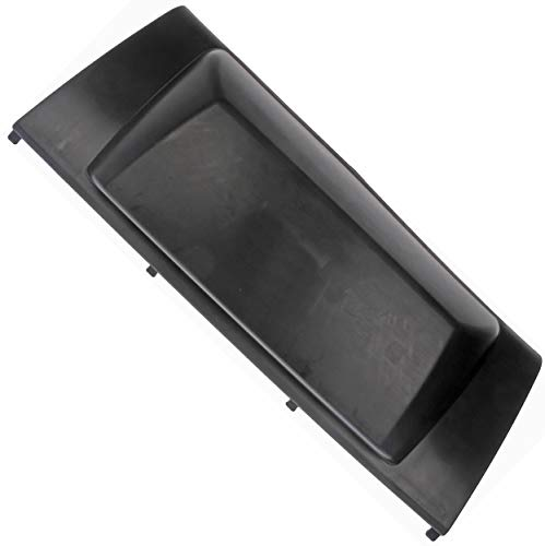 APDTY 65521 Rear Bumper Trailer Hitch Cover Fits 2007-2014 Cadillac Escalade, Chevrolet Suburban, Tahoe, GMC Yukon (Black Plastic Panel Only; See APDTY 133898 For Hardware) (Replaces GM 20777999)