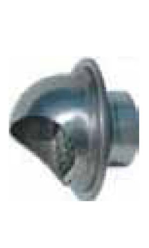 Noritz VT5-SH 5-Inch Hood Termination for Single Wall Stainless Steel Venting