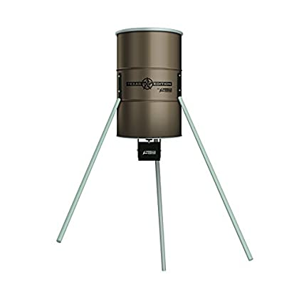 Image of AMERICAN HUNTER Tripod Texas Edition Feeder Kit 350Lb Game Feeders