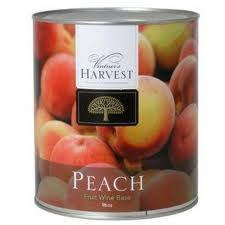 Peach (Vintner's Harvest Fruit Bases) 96 OZ - Harvest Peach