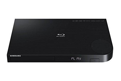 Samsung BD-JM63 3D Blu-Ray Player, Black (Certified Refurbished) by Samsung